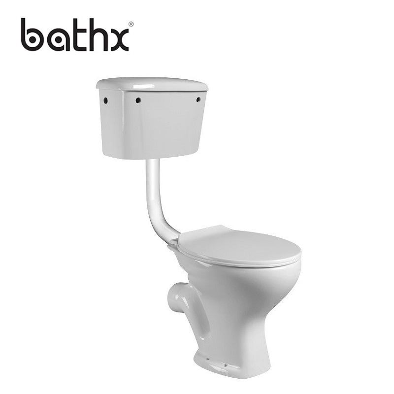 Magnificent Hot Item Cheap Sanitary Wares Ceramic Two Piece P Trap Water Closet Pan With Toilet Seat Fashion Twyford Toilet Sets Pl 6001 Gmtry Best Dining Table And Chair Ideas Images Gmtryco