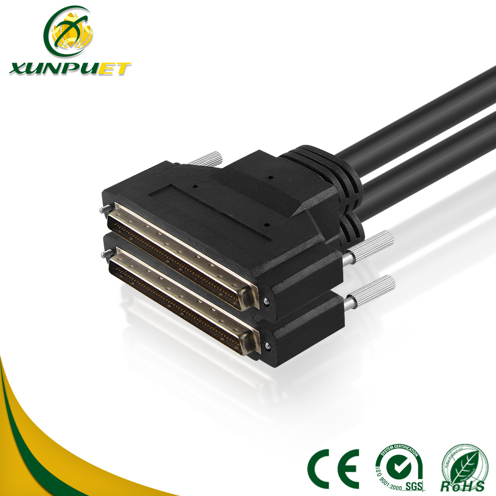 China Communication Equipment SCSI 100pin Copper Wire Data Cable ...