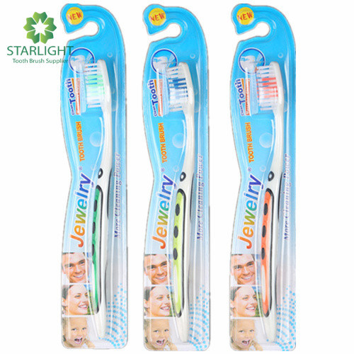 Hot Selling Adult Toothbrush (821) pictures & photos
