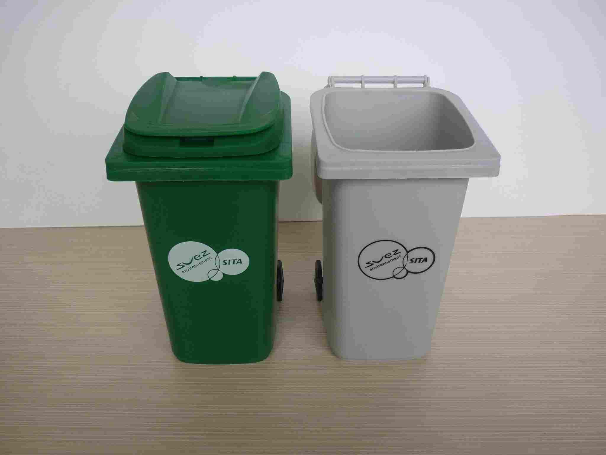 China Plastic Mini Trash Can China Plastic Mini Trash
