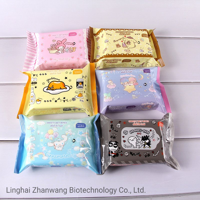 Custom Clean Skin Wet Wipes for Baby Cleaning Baby Body Care Wipes