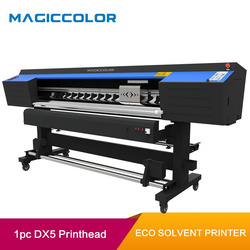China 1 6m Eco Solvent Vinyl Sticker Printing Machine With