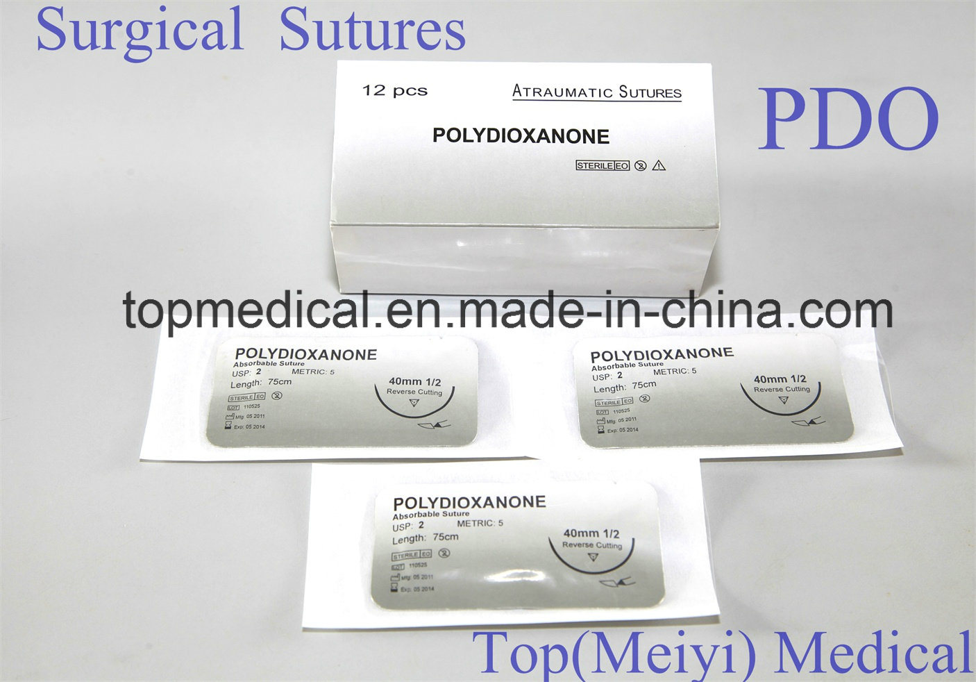 Surgical Suture (Absorbable and Non absorbable)