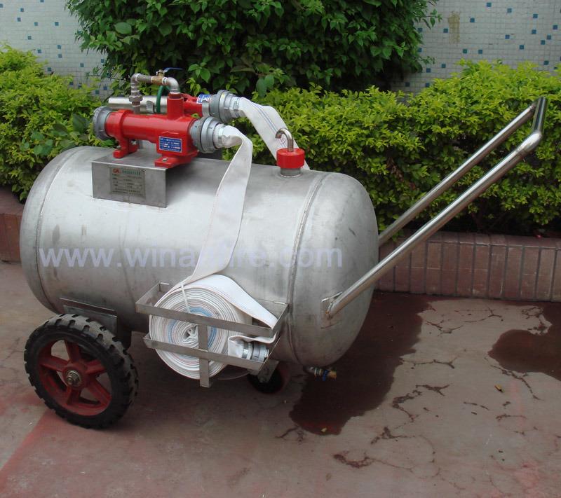 [Hot Item] Foam Cart Foam Trolley/Mobile Foam Tank