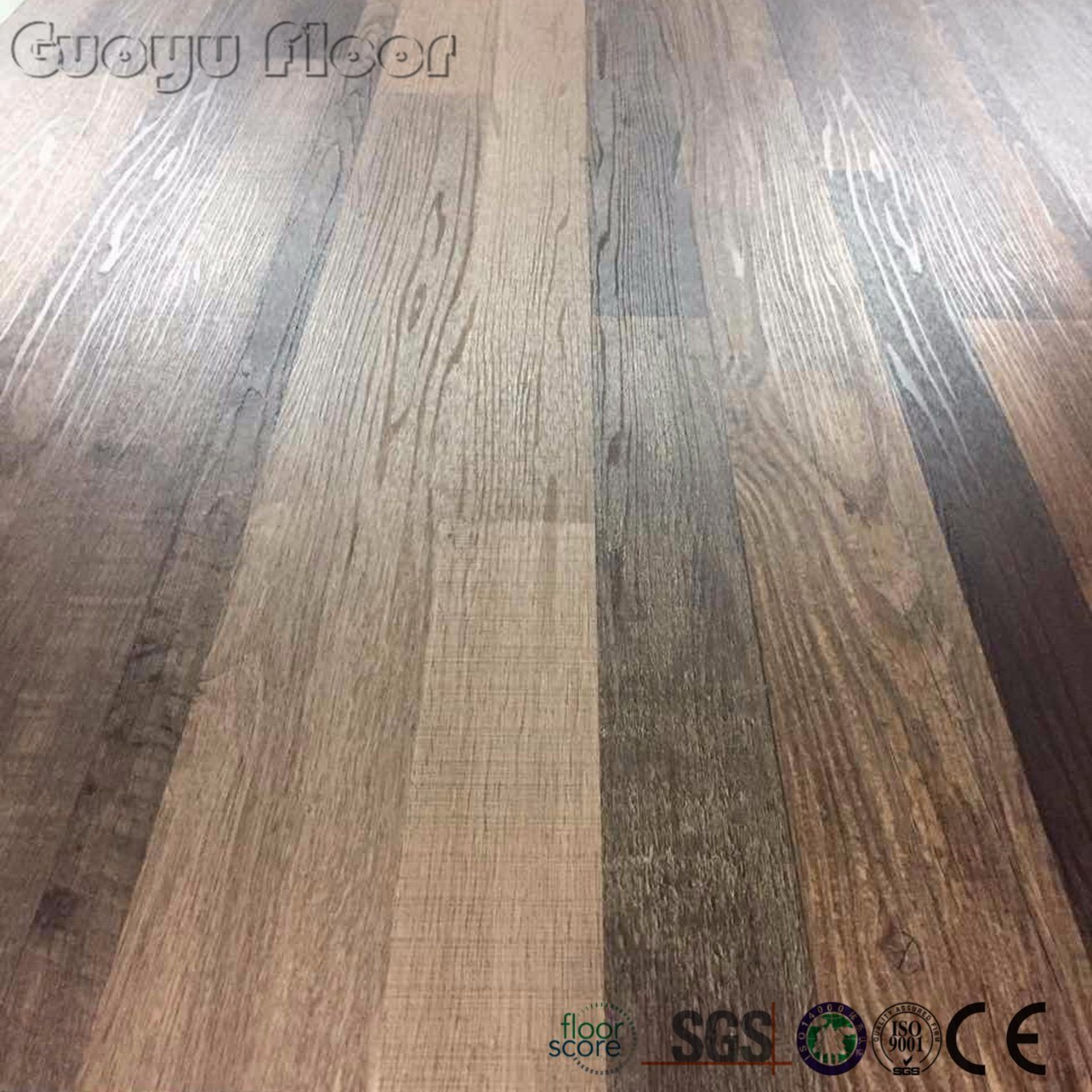 Best Price Interlock Click Wood Texture Vinyl Plank PVC Floor