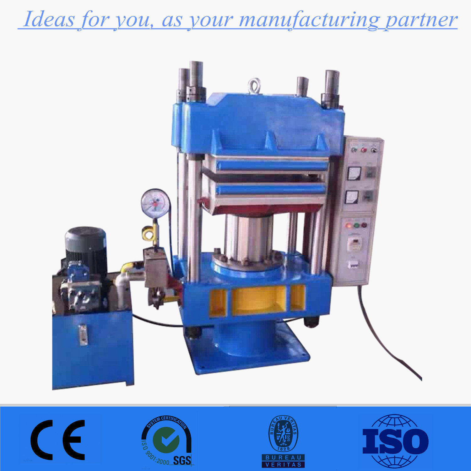 Factory Wholesale China Vulcanizing Press for Rubber Floor Tiles ...
