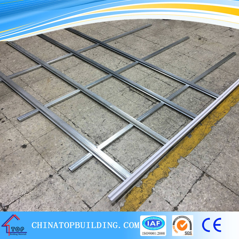 China Gypsum Board Suspended Ceiling Metal Frame/Channels for ...