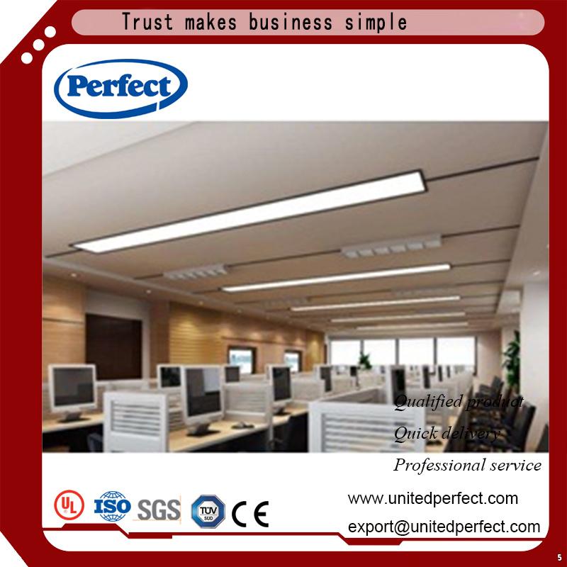 China Sound Insulation Rockwool Ceiling Tile Fiberglass Baffle In