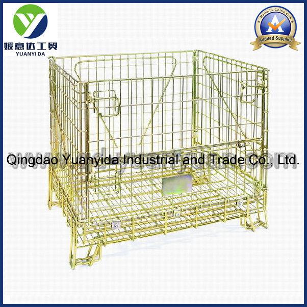 Cage Large Box Pallets Storage Boxes Steel Framed Plywood Panel Stillage