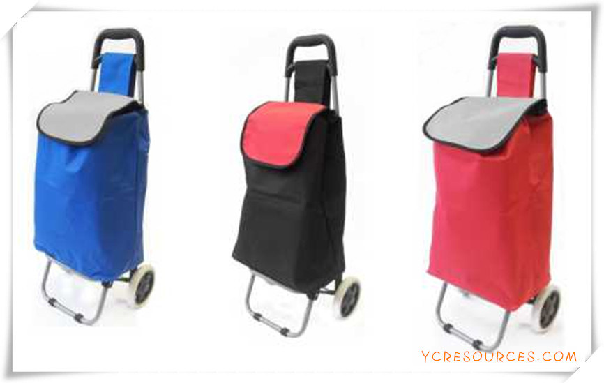 Two Wheels Shopping Trolley Bag for Promotional Gifts (HA82008)