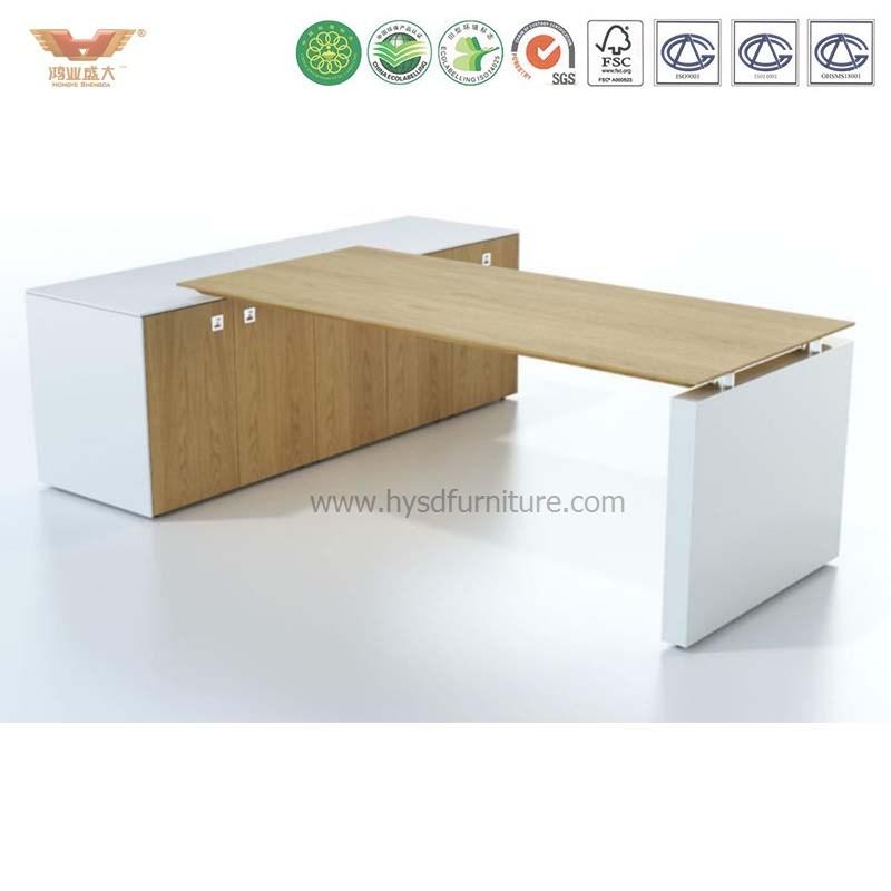 China High Quality Melamine Board Office Furniture Desk Executive