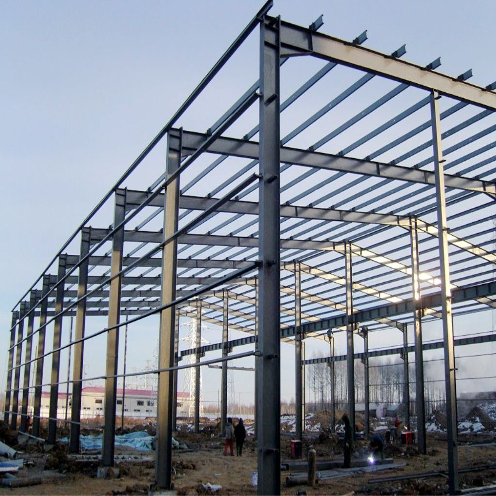 Light Prefabricated Steel Frame Structure Chicken House Farm pictures & photos