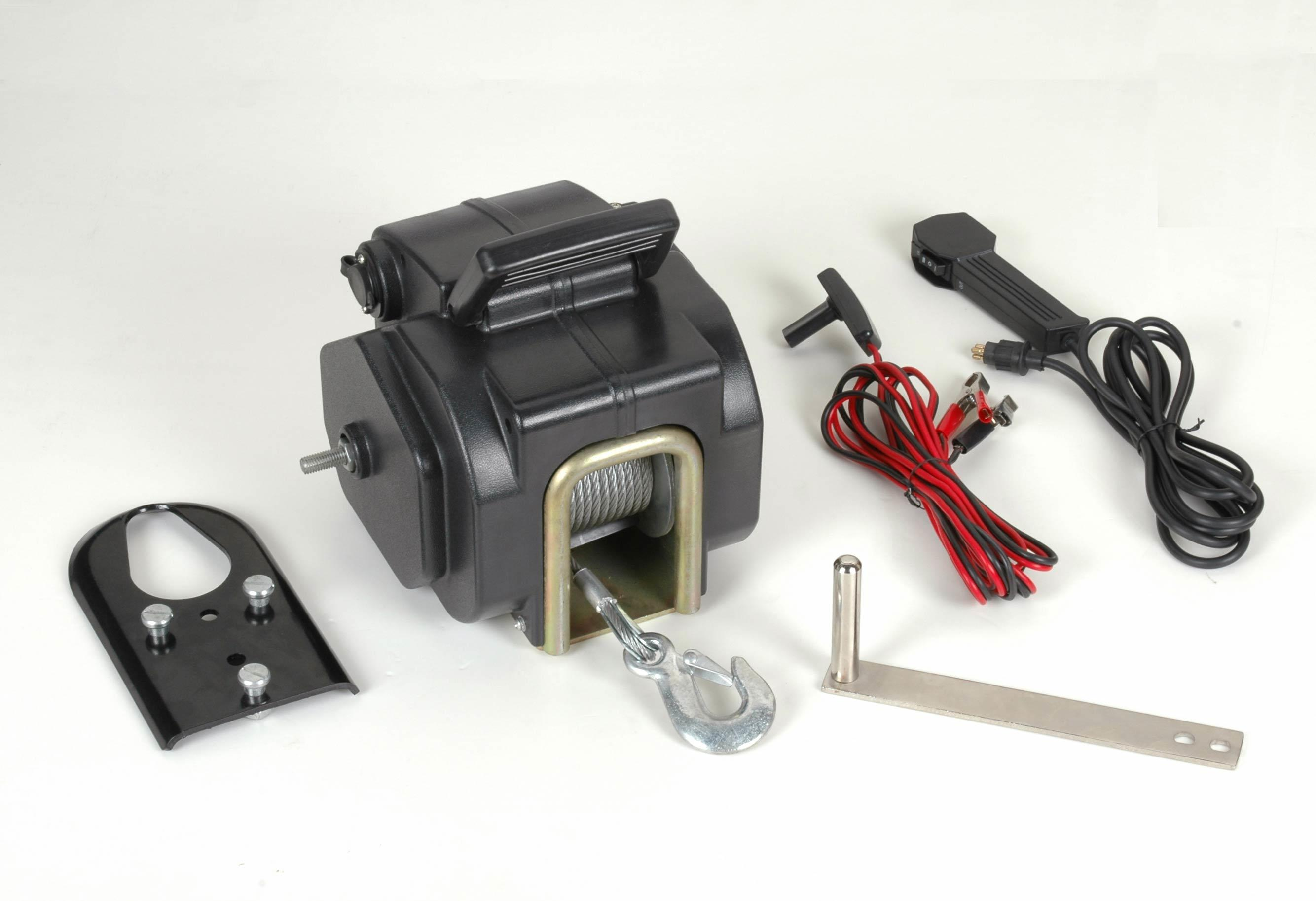 Boat Winch with DC 12V 2000lb Pulling Capacity