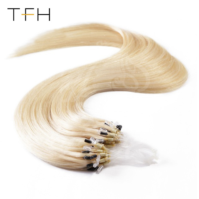 China Micro Ring Straight Hair Extension Wholesale Factory Price 14