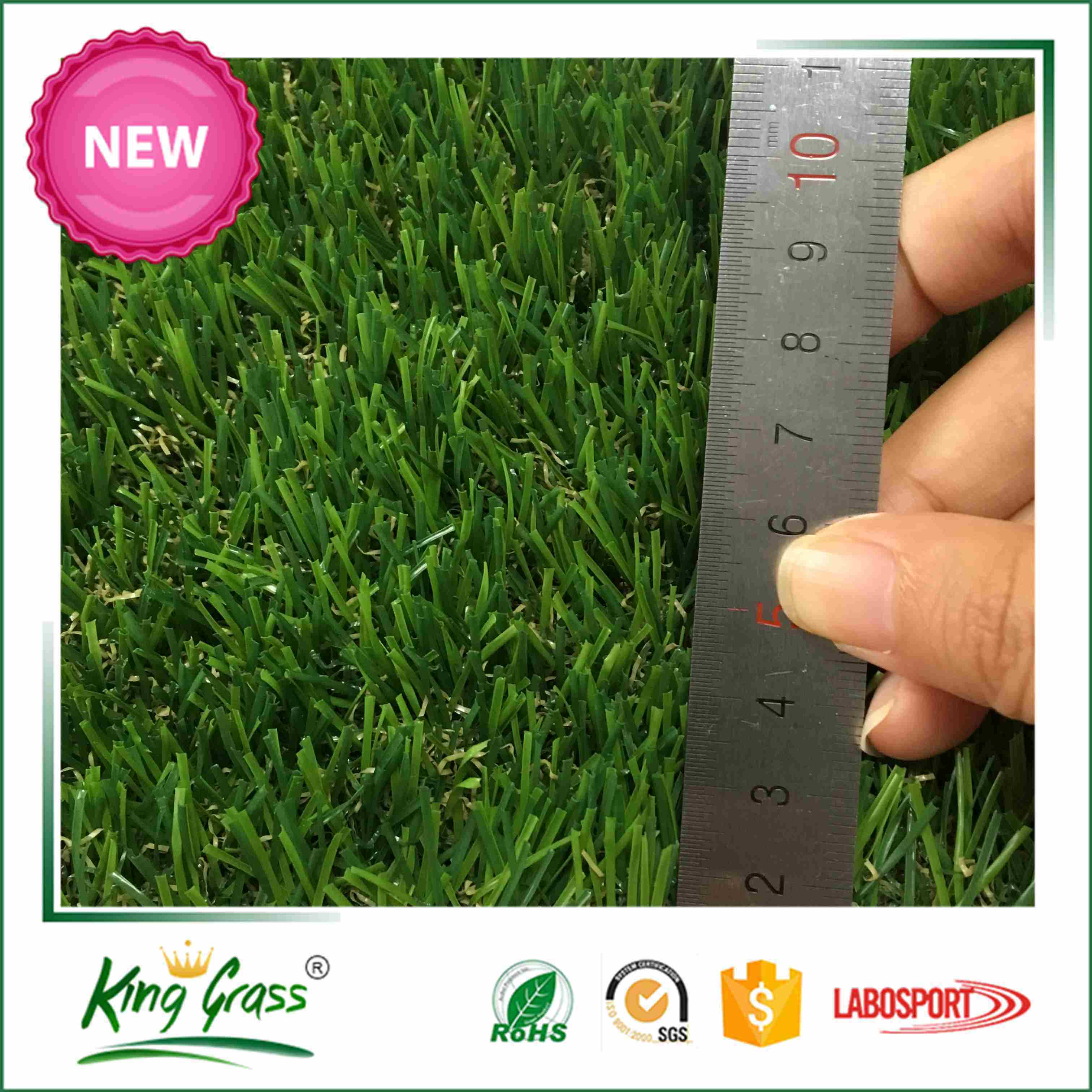 High Abrasion Resistance Sport Leisure Artificial Turf Synthetic Grass For Outdoor Indoor