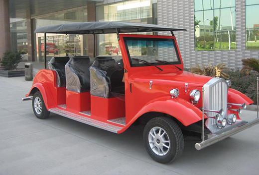 6 Passenger Vehicles >> China Electric 6 Passenger Clssic Car Electric Vehicles