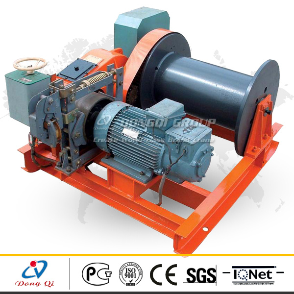 China Hot Selling Jm Series Lifting Speed Electric Wire Rope Power ...