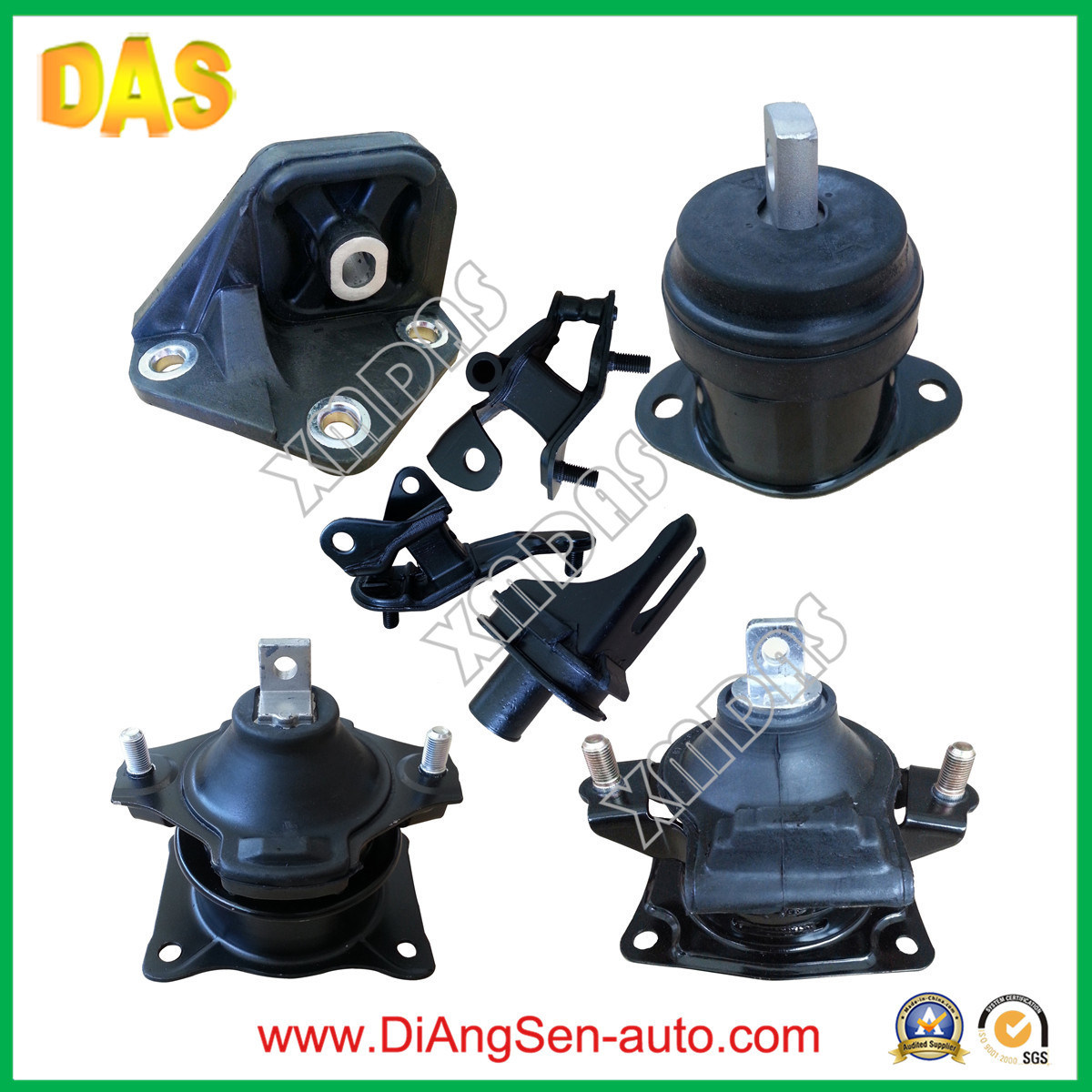 China Car Rubber Auto Parts For Honda Accord Engine Motor Mounting 2011 Ridgeline Suspension Control Arm Front Left Lower W0133 50810 Sda A02