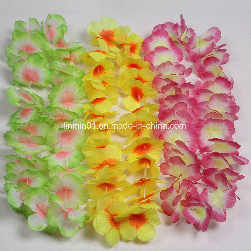 Christmas In Hawaii Party.China Custom Polyester Hawaii Lei For Christmas Party