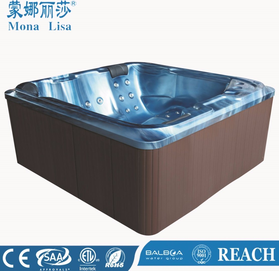 China Bubble and Whirlpool Simple Hot Tub with USA Lucite Acrylic (M ...