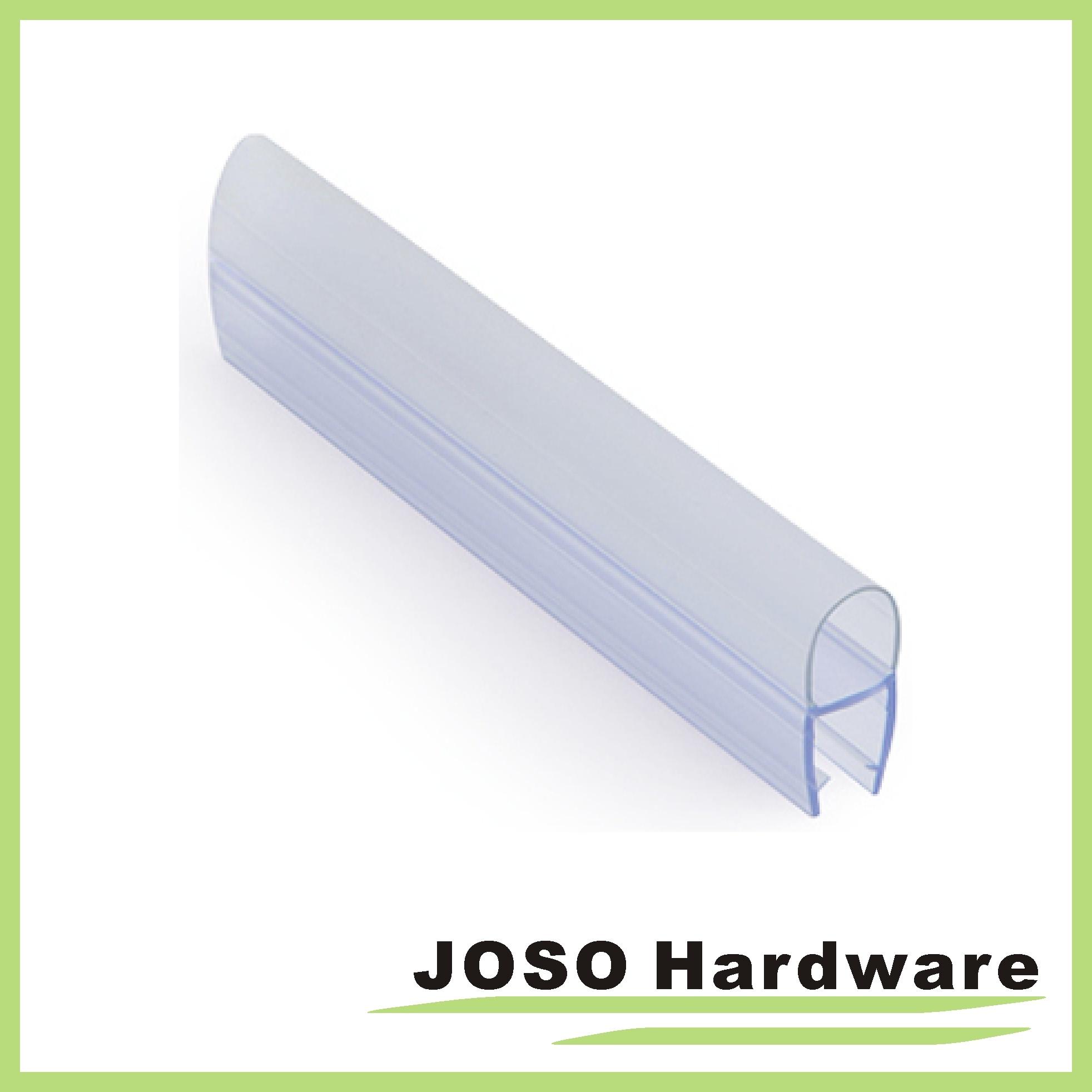 shower chrome clear seal finish hinged com pivot glass radius bathtub dp frameless mecor door amazon
