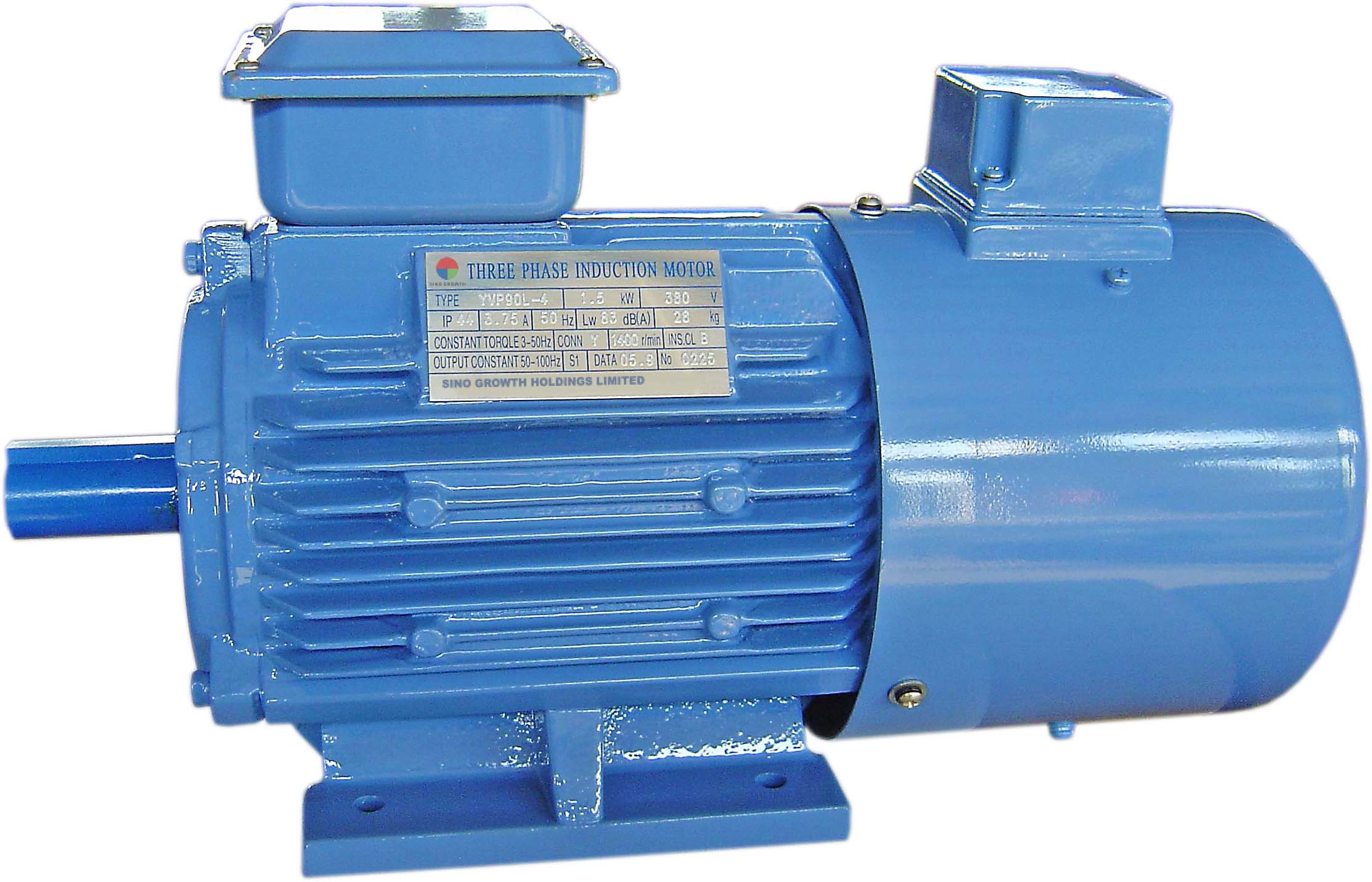 China Yvf2 Series Speed Adjustable Three Phase Asynchronous Motor ...