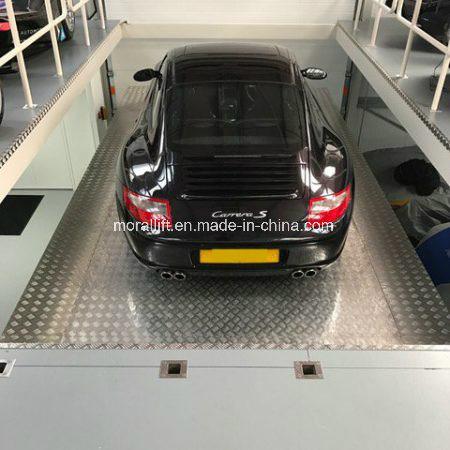 Storage Cars Underground Driveway Garage Car Lift