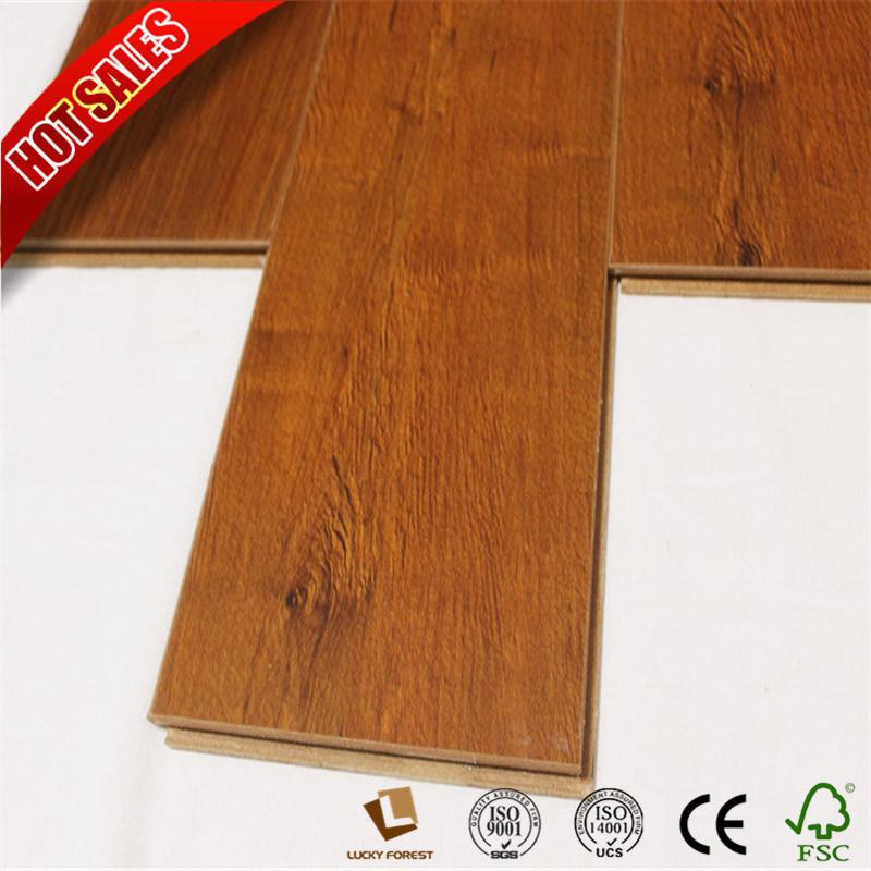 China 12mm Wood Effect Laminate Flooring German Hardwood Building Material