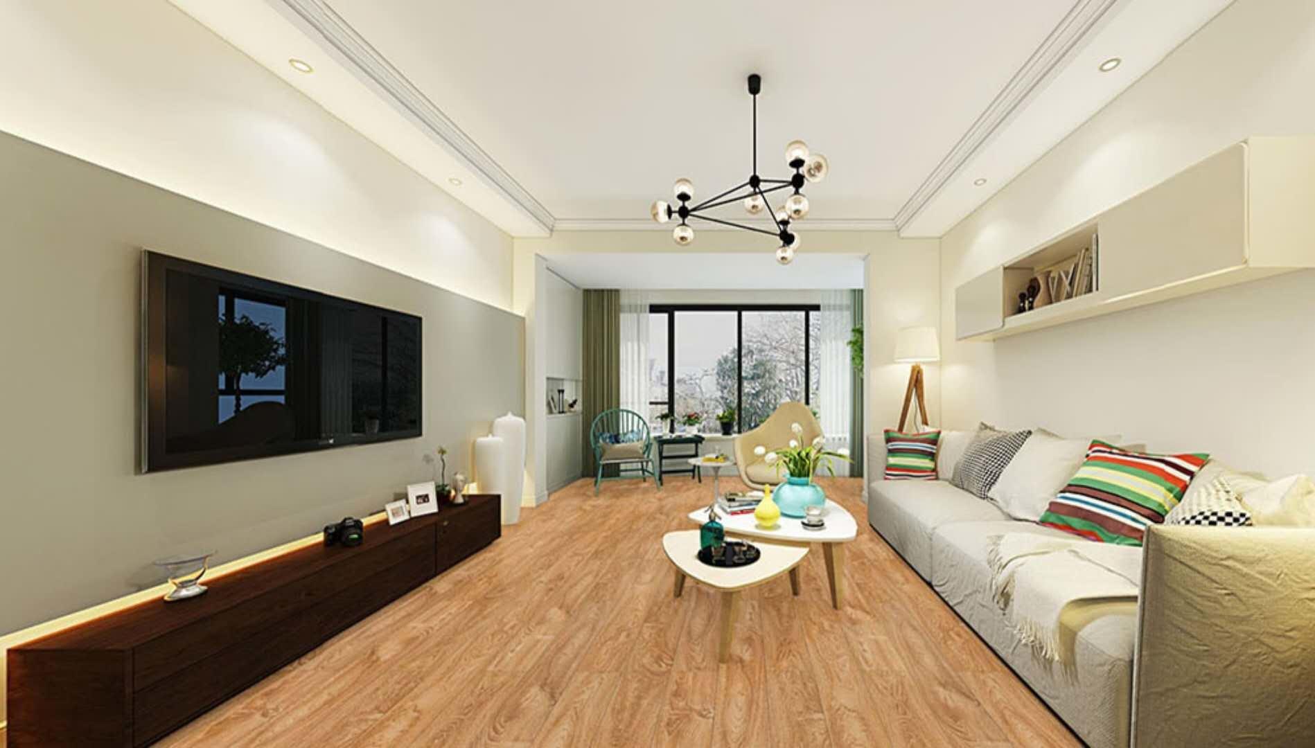 China Waterproof Ac3 Hdf Natural Grain Laminate Floor Flooring Hardwood