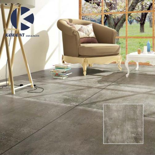 Building Material 60X60 Grey Porcelain Floor Tile For Living Room