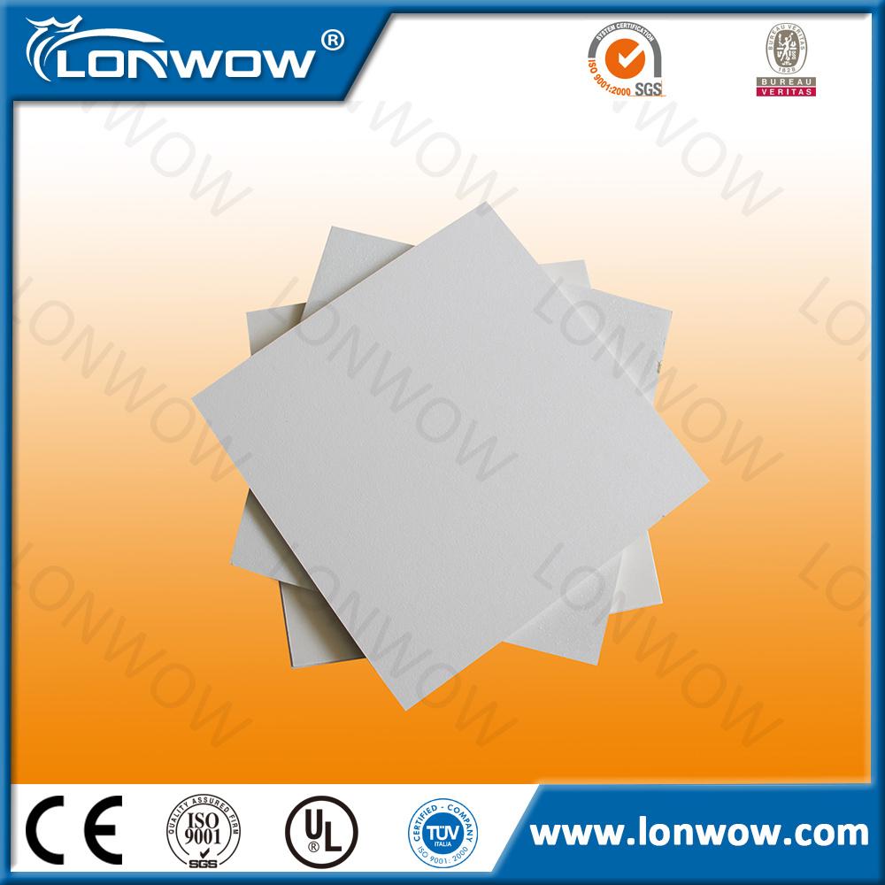 China Decorative Material Sound Absorption Fiberglass Drop Ceiling Tiles Panel