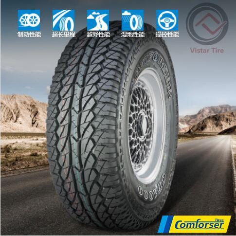 China Comforser Roadcruza Brand All Terrain Car Tyres 215 75r15