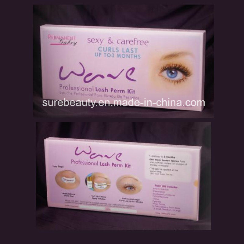 China Eyelash Perm Kit Super Curling Wave Lotion False Eyelashes