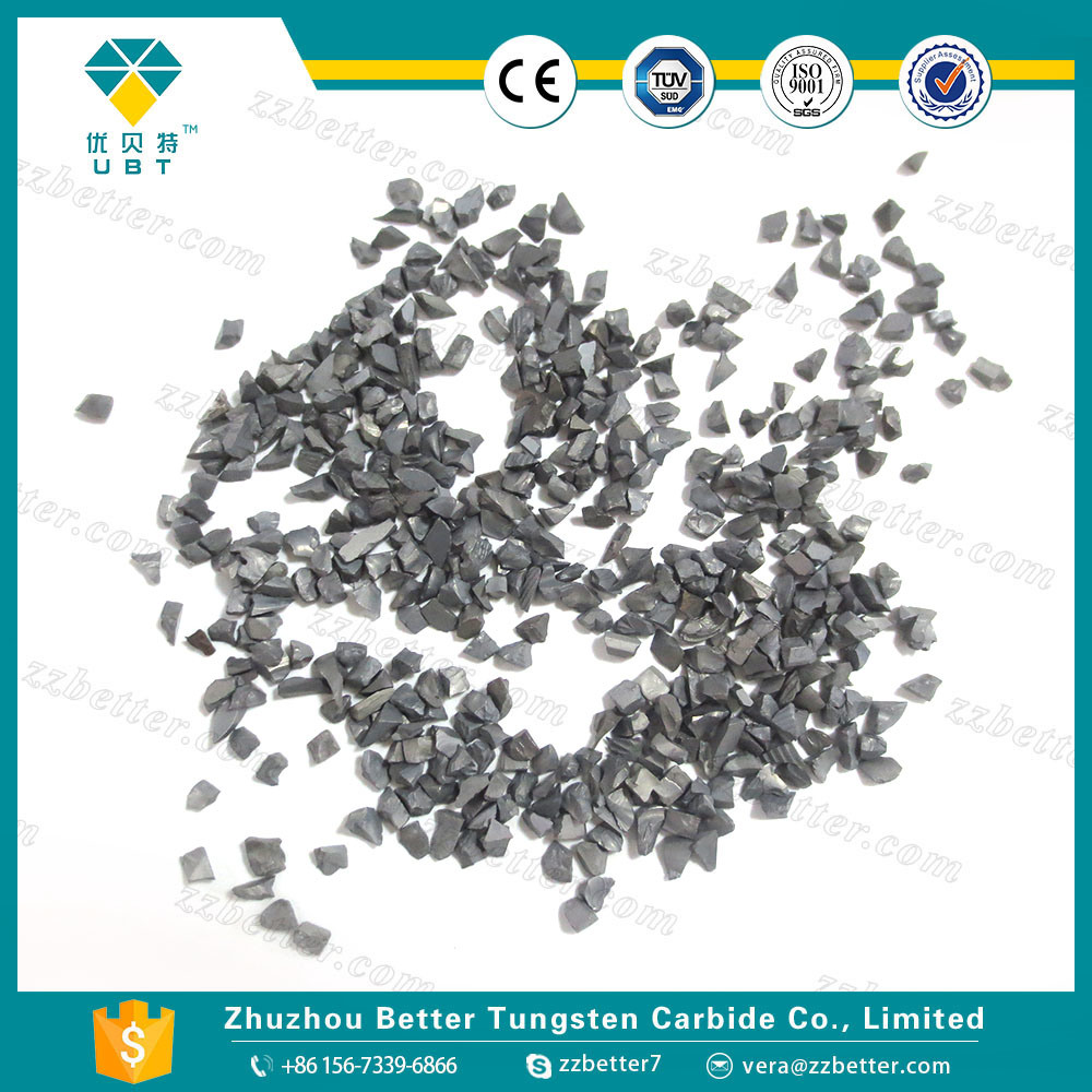 China Tungsten Carbide Grit Made in Recycle and Crush Scrap Photos