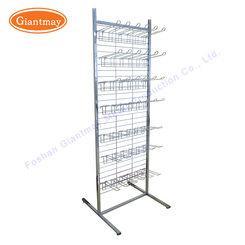 China Convenience Store Iron Wrought Hanging Mesh Wire Grid Panel ...