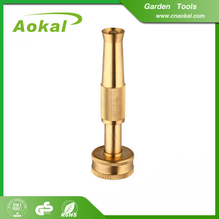 China Brass Hose Nozzle High Pressure Water Spray Nozzle For Agriculture Photos Pictures Made In China Com