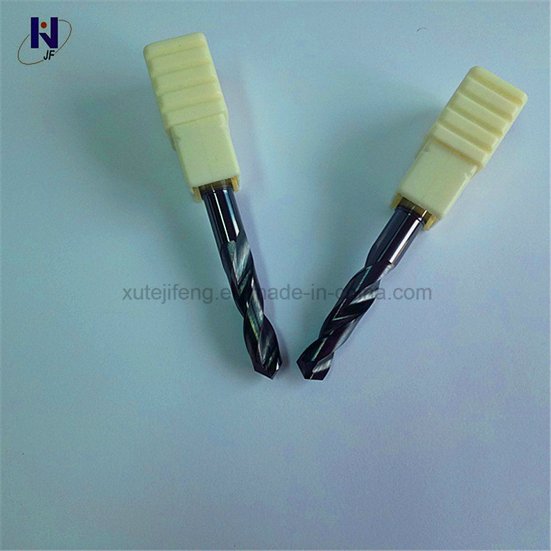 China Solid Carbide 3D Twist Drill Bits with High Performance From ...
