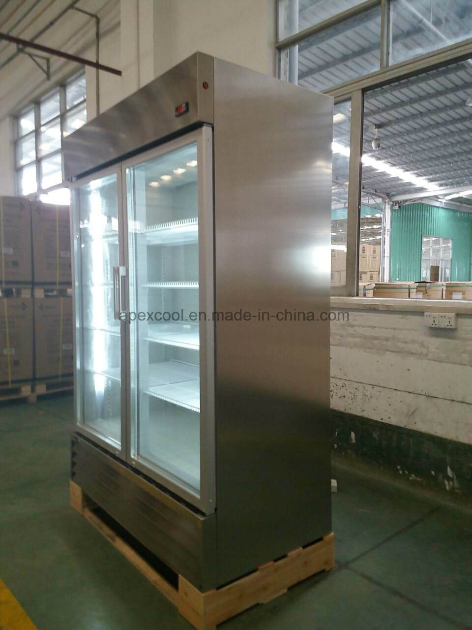 China Double Door Stainless Steel Commercial Restaurant Kitchen ...