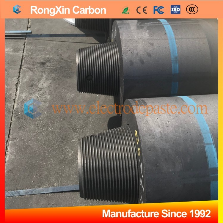 China Steel Casting Uhp Extruded Carbon Graphite Electrode With