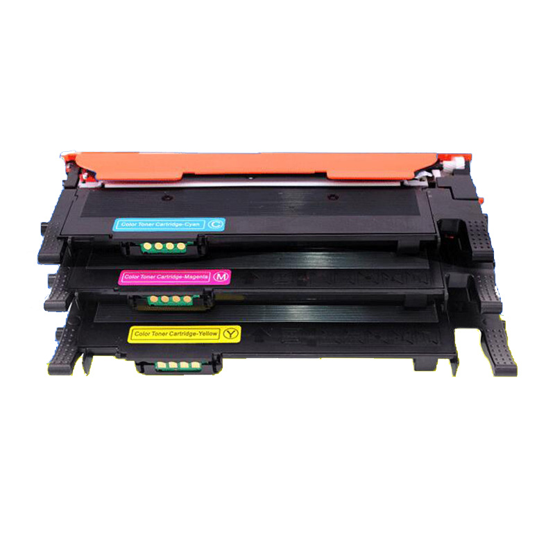 Bulk: CSCLP325 CLP325 CLP320N etc; Asst Colors BCMY Ink 12 Assorted Toner Cartridges CLT-K407; Models: CLP320 Replacement for Samsung P325 Myriad Compatible Assorted Toner Cartridges