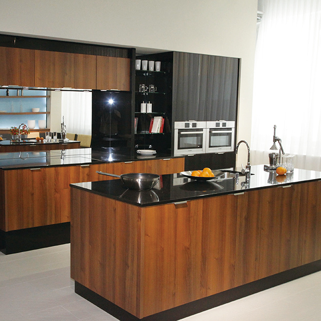 Hot Item Custom Made Affordable Modern Rta Laminate Kitchen Cabinet