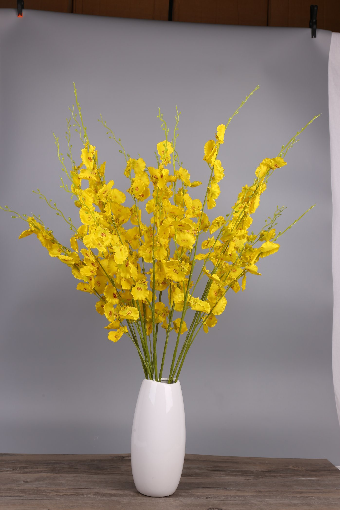 China Artificial Flower Artificial Dancing Orchid Flower Fake