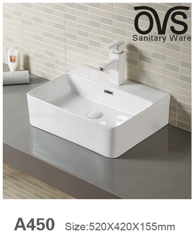 China Hot Sale Ceramic Best Price Wash Basin Cabinet Basin Bathroom Vanity China Wash Basin Bathroom Vanity