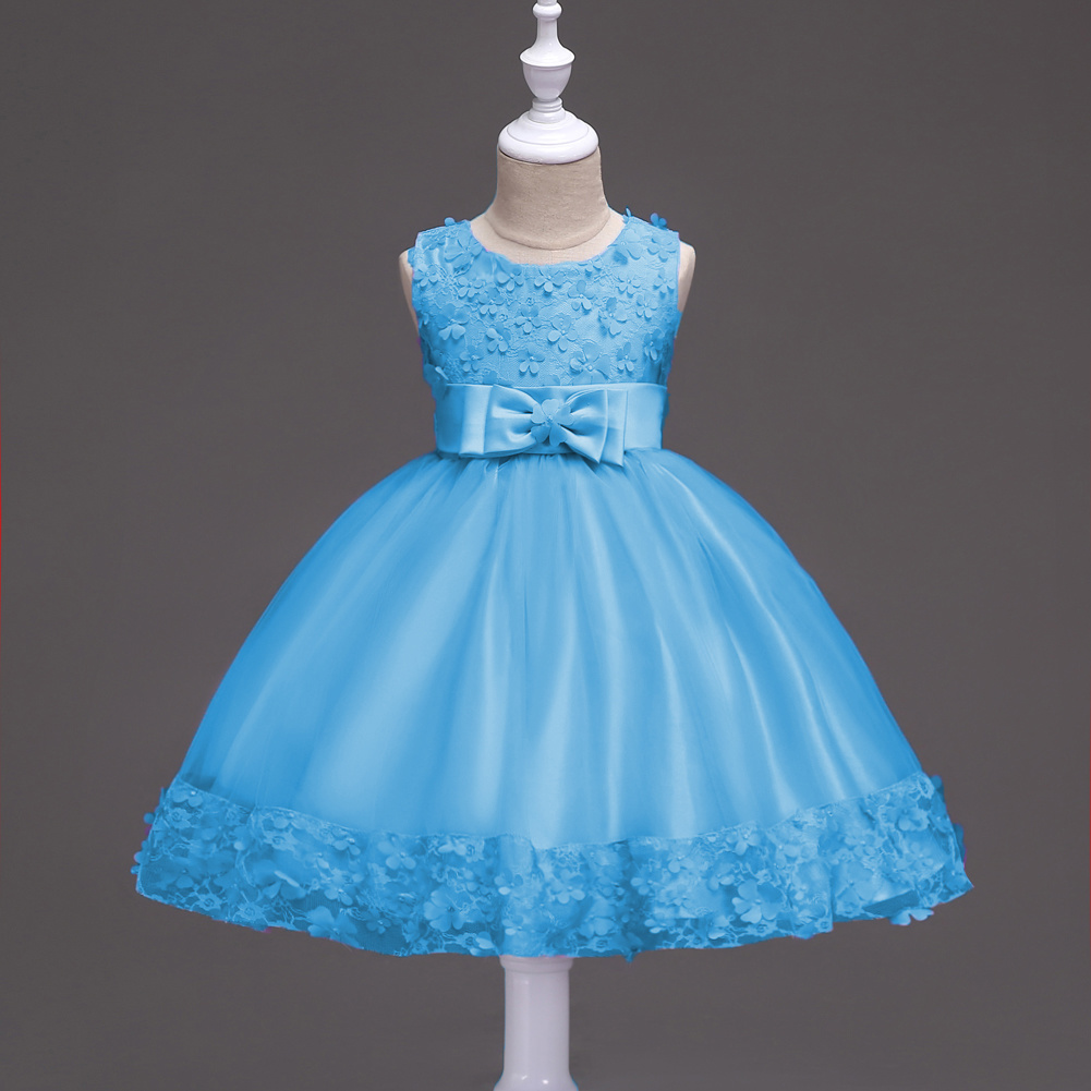 China Children Wedding Party Dresses Kids Evening Ball Gowns - China ...