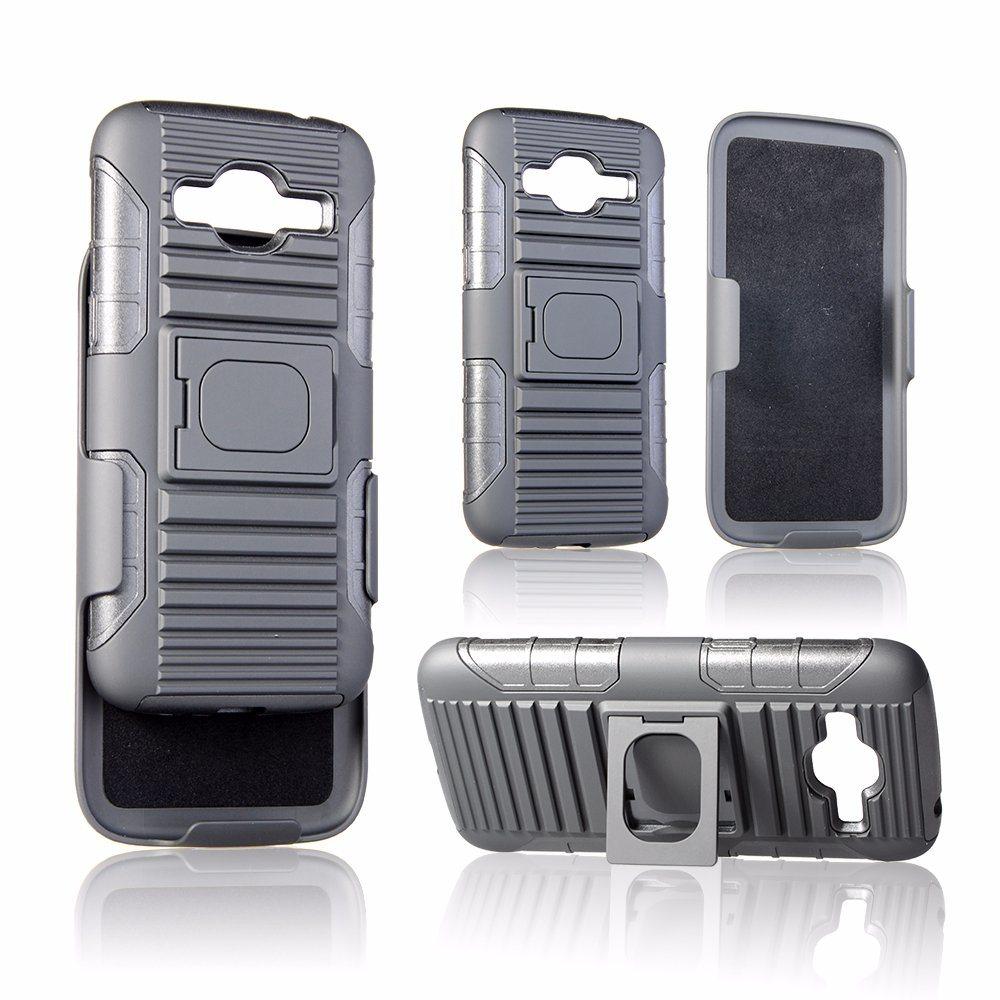 best website 4d9a1 8671e [Hot Item] Belt Clip with Ring Kickstand Design Back Cover mobile Phone  Case for Samsung J1 Mini/ J2