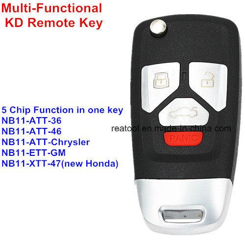 China Multi-Functional Universal Remote Key Keydiy Nb26-3+1