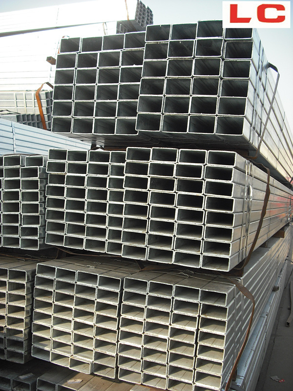 Hot Dipped Galvanized Rectangular Pipe pictures & photos