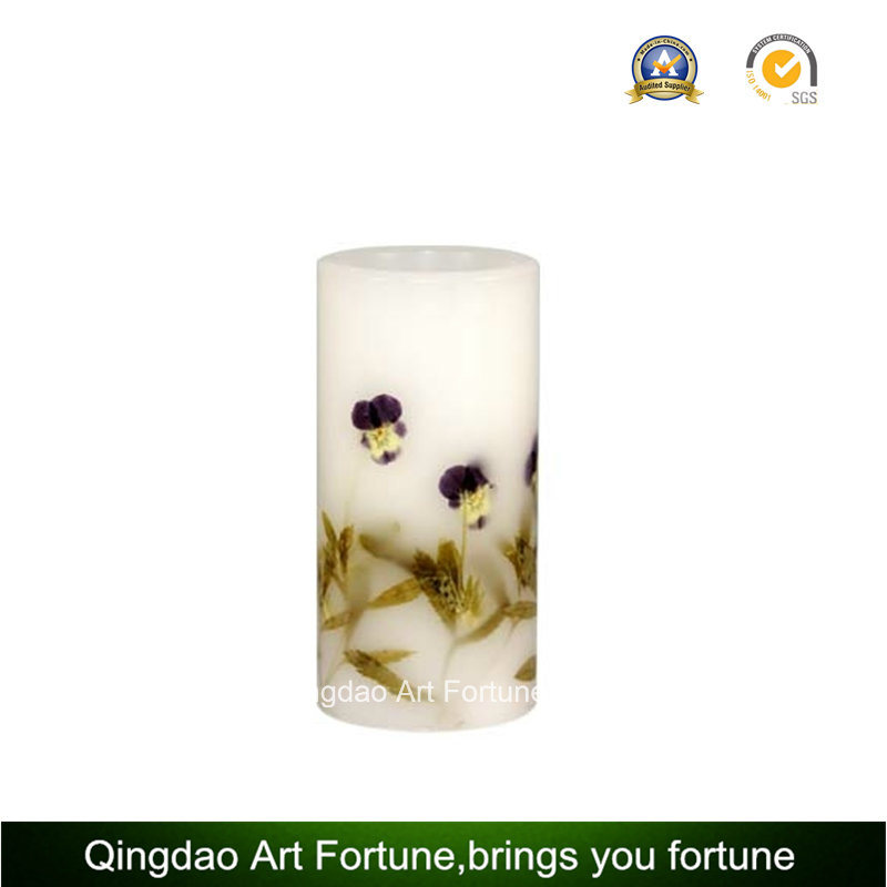 Seashell Design Handmade Pillar Candle Supplier pictures & photos