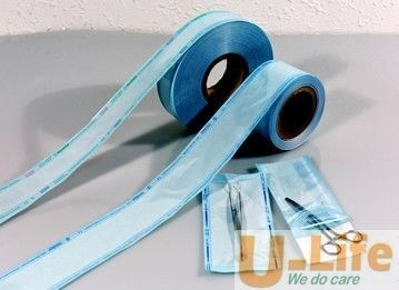 Heat Sealing Sterilization Flat Reel Gusseted Roll