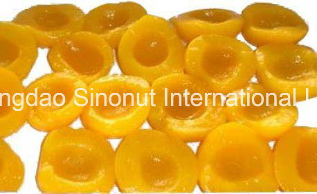 Promotion Sales Canned Yellow Peach Halves